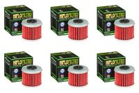 Honda CRF 450 2004 - 2020 Oil Filter Set HiFlofiltro HF116 Pack of 6