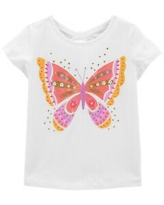 """BUTTERFLY Girls Carter's Top.  """"NWT"""" (Size 8)"""