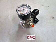SMC Regulator #AR20-N02B-Z Set Pressure 7-125 PSI (New)