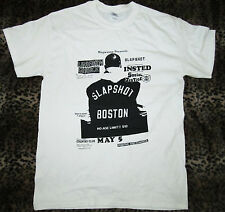 Slapshot,Uniform Choice, Vintage Flyer T-Shirt,NEW Size Small,Straight Edge