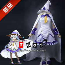 Vocaloid Hatsune Miku Magical Girl Yuki Miku Dress Set Cosplay Costume