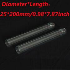 2/5/10/30/50/100Pcs 25x200mm Lab Chemistry Borosilicate Glass Test Tubes New