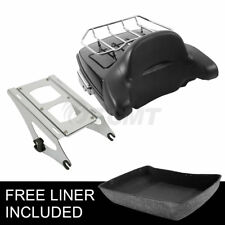 Chopped Tour Pak Pack Trunk For Harley Davidson Touring Street Road Glide 14-19
