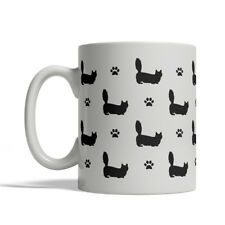 Munchkin Cat Silhouettes Coffee Mug, Tea Cup 11 oz ceramic silhouette