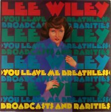 Lee Wiley-You Leave Me Breathless-Broadcasts And Rarities LP USA-Jass Fifteen