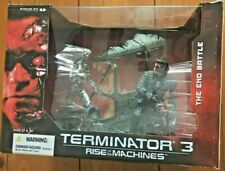 McFarlane Toys Terminator 3 Rise of the Machines The End Battle Boxed Set