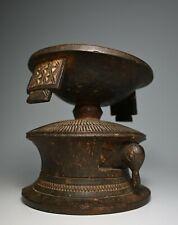 A Fine Old Agere Ifa Yoruba Divination Bowl