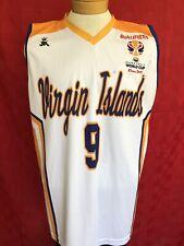 Rare Virgin islands Fiba basketball World Cup 2019 qualifiers basketball jersey