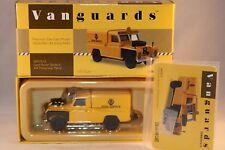 Vanguards Corgi VA07612 Land Rover Motorway Patrol 1:43 mint in box