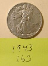 HA163H1018 - Silver Walking Liberty Half Dollar 1943   - Free Shipping