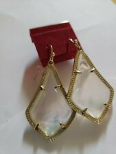 Authentic Kendra Scott Gold Drop Earrings AB color