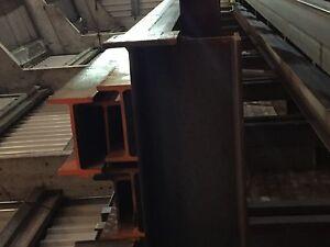 Steel beams - RSJ - Builders beams