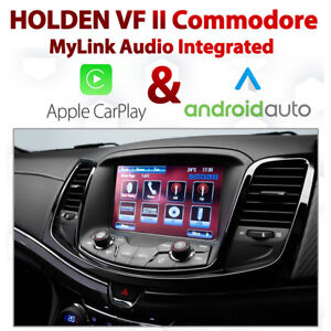 Holden VF Series 2 Commodore MyLink Integrated Apple CarPlay & Android Auto
