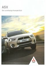 Prospekt / Brochure MItsubishi ASX 02/2015 mit Preisliste