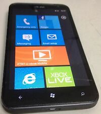 HTC Titan  16GB  Black (AT&T) Smartphone Windows Hairline Crack