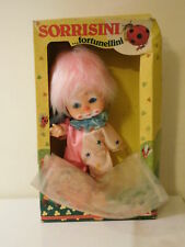 Bambola FIBA SORRISINI FORTUNELLINI CLOWN Cm 23 DOLL in BOX (Cod. F6) VINTAGE