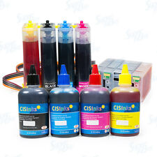 Continuous Ink System and Refill Bottles for Canon PGI-1200 MAXIFY MB2020 MB2120
