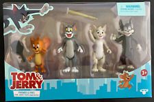 Tom & Jerry - Friends and Foes 4 Pack Action Figure Movie Toy Gift New 2021 Nib