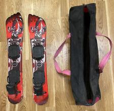 Original Kneissl WOW Big Foot Ski mit Tasche, Kurzski, Bigfoot Snowblades