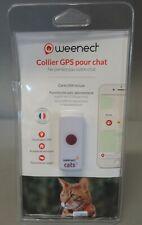 Collier GPS pour chat - Weenect - Fonctionne avec abonnement