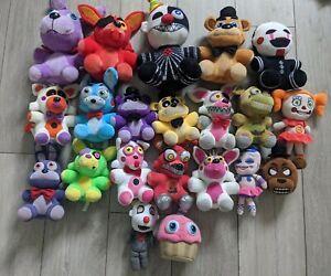 Five Nights at Freddys x21 Plush Bundle FNAF Soft Toys some RARE Foxy Freddy