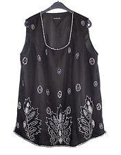 Ärmellose Damenblusen,-Tops & -Shirts im Trägertops-Stil mit Seide für Freizeit