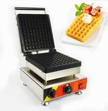 Commercial Non-stick Electric Waffle Maker Iron Baker Machine for Waffle Making