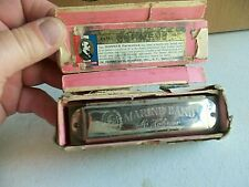Vintage Hohner Marine Band Harmonica In Original Box Made In Germany