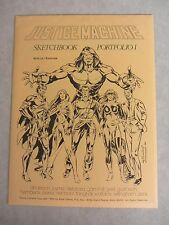 Justice Machine Sketchbook Portfolio Vol 1 ~ 10 Prints ~ Noble Comics 1982