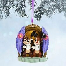 Disney Store Sketchbook 2014 Chip n Dale Chip and Dale Christmas Ornament