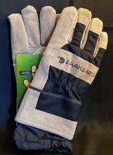 New Carhartt A603 Mens Dozer Gloves Heavy Duty Work Gloves Sz M