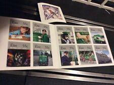 Book Irish Stamps Plus One Odd One New