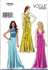 VOGUE SEWING PATTERN 8852 MISSES 12-20 EVENING/FORMAL/BRIDESMAID DRESS/GOWN/MAXI