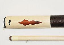 Viking pool cue ,Vikore Shaft  Billiards Custom cocobolo Arrowhead, vintage look