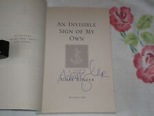 AN INVISIBLE SIGN OF MY OWN by AIMEE BENDER    *Signed*  -ARC- -JA-