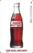 """Japan Phonecard. Télécarte du Japon.   """"COCA-COLA"""".  (NEUVE - UNUSED)."""