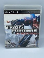Transformers: War for Cybertron (Sony PlayStation 3, PS3) Complete