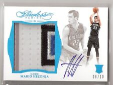 Mario Hezonja 15/16 Flawless Patch Auto RC #SR-HM SN #08/10