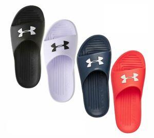 Under Armour 2020 Core PTH Slides Sliders Sandals Flip Flops UA Beach Pool Shoe