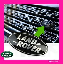 🌟LAND ROVER🌟BLACK🌟86MM GRILLE OR BOOT BADGE,EVOQUE RANGE ROVER FRONT OR REAR