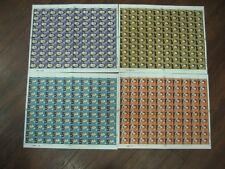 1972 Explorer 4 Full Sheets um 100 séries timbres timbres spéciaux SG897-900 Cat £ 120