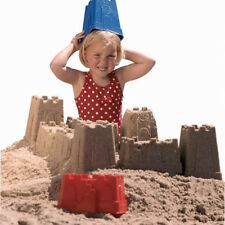 Sandburgformen Set, 6 teilig - Sandspielzeug Kindergartenqualität