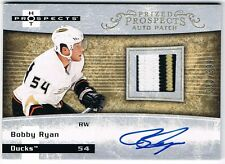 2007-08 HOT PROSPECTS ROOKIE PATCH AUTOGRAPH #201 BOBBY RYAN /399 !! 3 COLOR