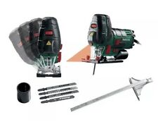 Parkside Jigsaw 800W - laser guide - Inc. 3 wood saw blades, 1 metal saw blade