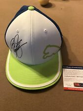 RICKIE FOWLER signed Puma hat PSS COA/ Oklahoma State/2018 Ryder Cup Team Member