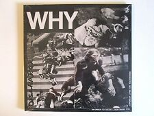DISCHARGE WHY LP 2014 U.S. REPRESS SEALED BROKEN BONES U.K. PUNK