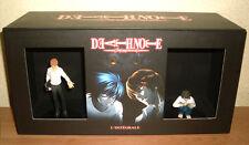Coffret DVD collector intégrale 3 volumes manga DEATH NOTE avec les 2 figurines