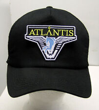STARGATE ATLANTIS Light Blue Logo Baseball/Trucker Cap/Hat w Patch