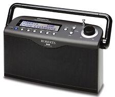 ROBERTS RADIO CLASSICLITE BLACK DAB DAB+ FM Portable Radio AUTHORISED STOCKIST