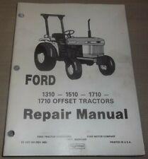 Ford 1310 1510 1710 Tractor Service Shop Repair Workshop Manual Oem